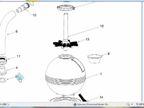 Waterway Parts For A Pool Sand Filter Mp4 Youtube