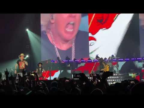 Guns N' Roses play a marathon three-hour gig in Hong Kong