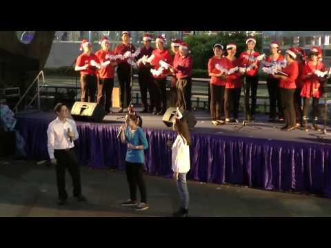 卫理公会华人年议会女皇镇礼拜堂19/12/2016于欢庆圣诞新加坡2016(ION Stage)