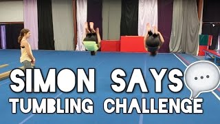 Simon Says Tumbling Challenge