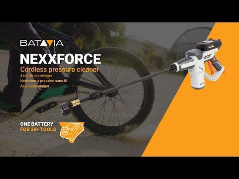 Nexxforce  BMX & mountain biking function | Mobile pressure cleaner