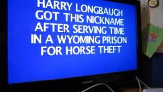 Jeopardy! Nintendo Wii U Run: Game 5