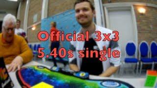 5.40s 3x3 single – Assen Open 2018