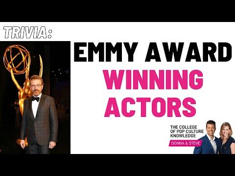 Emmy Award Winning Actors Trivia