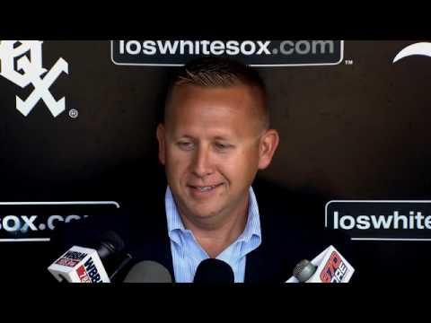 Hostetler talks MLB Draft approach for White Sox