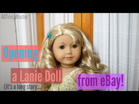 Opening A Lanie Doll From EBay!