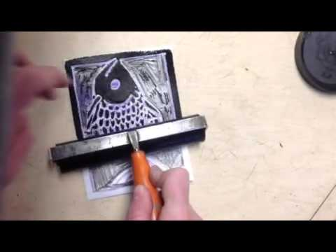 Foam Printmaking