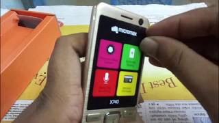 MICROMAX X 740 UNBOXING