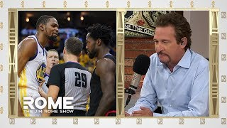 Kevin Durant Gets SHUT DOWN! | The Jim Rome Show