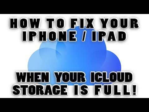 "Tutorial - How to Fix ""iCloud Storage is Full"" Message on Your iPhone or iPad Permanently!"