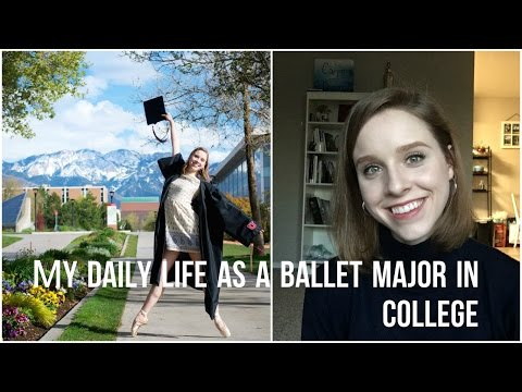 Daily Life as a Ballet Major in College - TwinTalksBallet