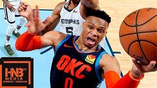 Oklahoma City Thunder vs Memphis Grizzlies Full Game Highlights | March 25, 2018-19 NBA Season