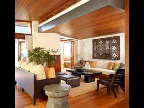 Zen living room design - YouTube