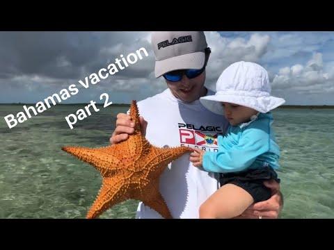Bahamas Vacation! Cherokee, Abaco Island. Bonefish, Conch, Starfish!