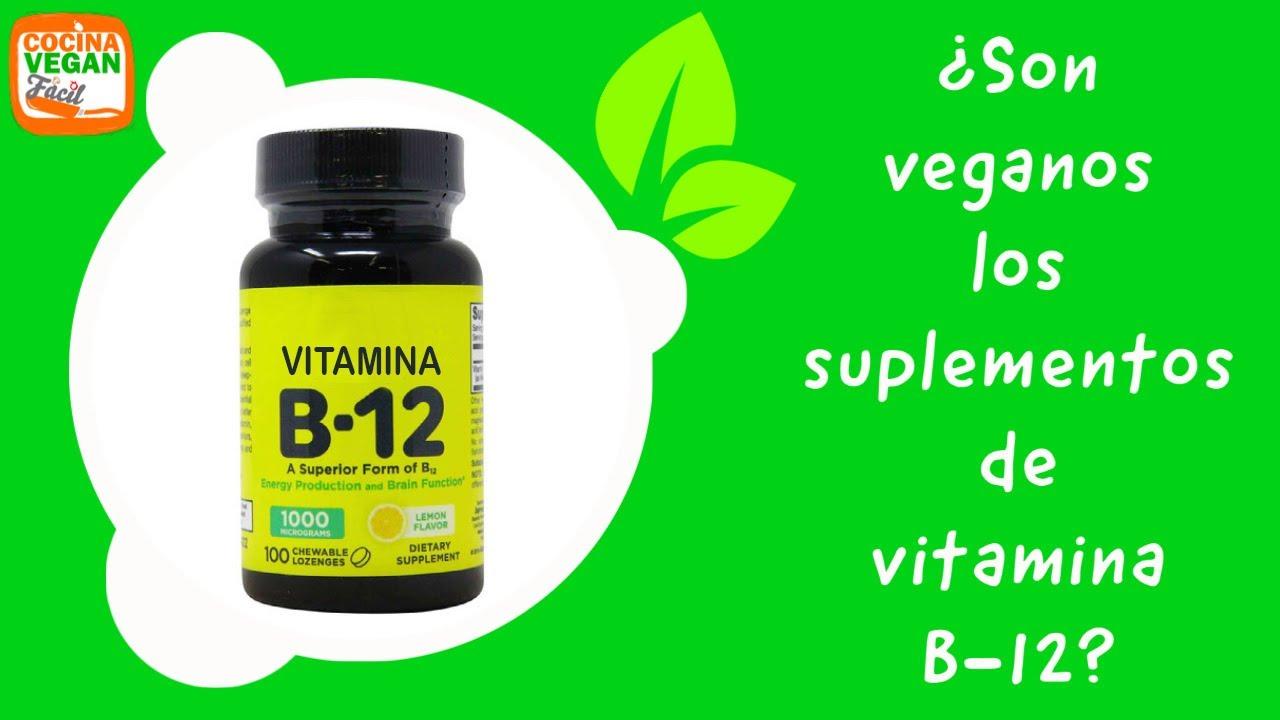 ¿Son veganos los suplementos de vitamina B12? - Cocina Vegan Fácil