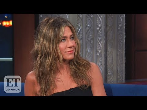 Randi West - A Friends Reunion Jennifer Aniston is questioned about what is happening
