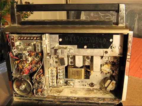 Zenith Trans Oceanic Portable Radio Repair 1of 6 Youtube