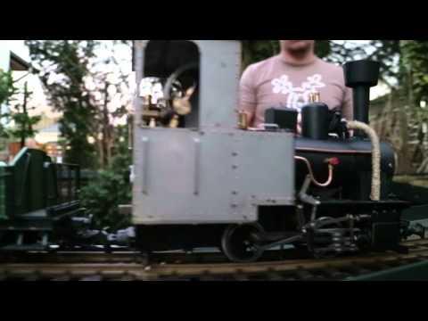 Feldbahn Dampflok Kohlegefeuert