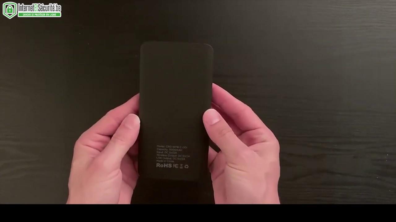 Comment Savoir Si Induction chargehubgo+ : la batterie sans fil | internetetsécurité.be
