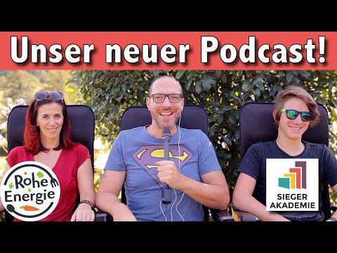 Wir starten einen (unveganen) Podcast!