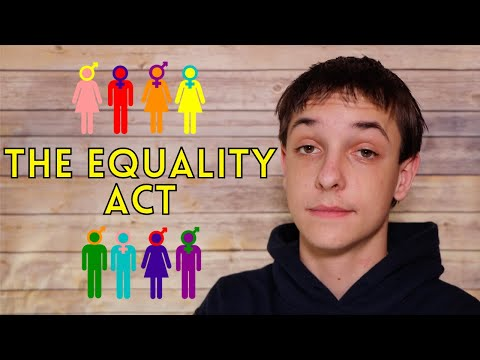 The Church's stance on the EQUALITY ACT...