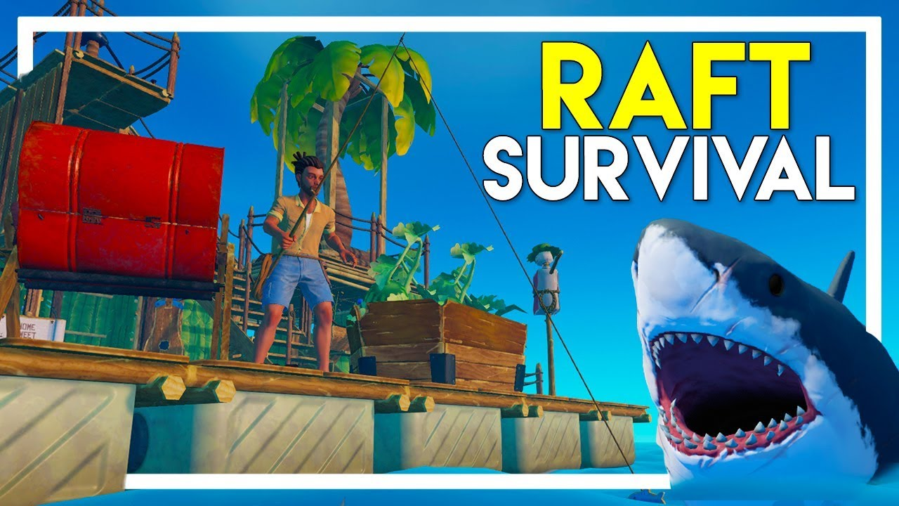 Raft Survival Game - Part 1: The Next BIG Survival Game - Getting Started!