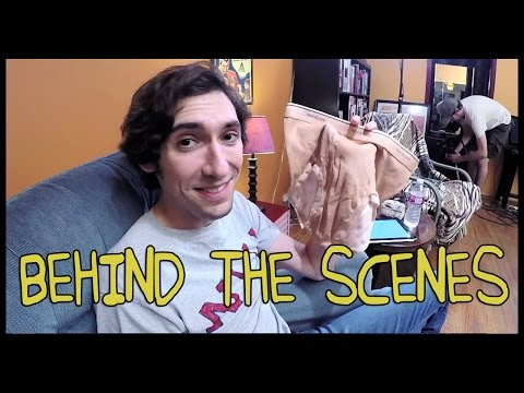 American Werewolf in London Transformation - Homemade w/ Max Landis (Behind the Scenes)