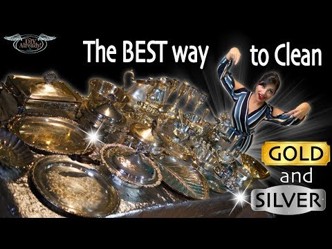 How to clean || Silver Gold Copper || Most effective and easy || DIY || TARN-X review