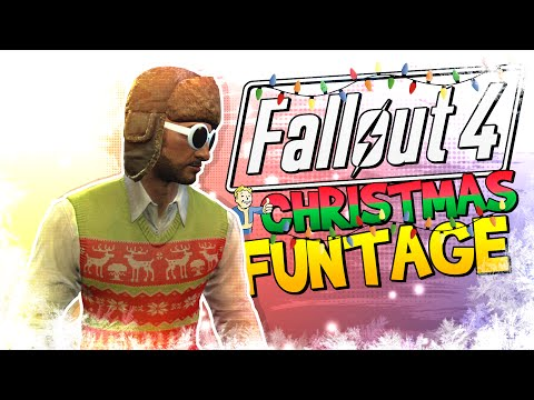 Fallout 4 FUNTAGE! - CHRISTMAS EDITION!