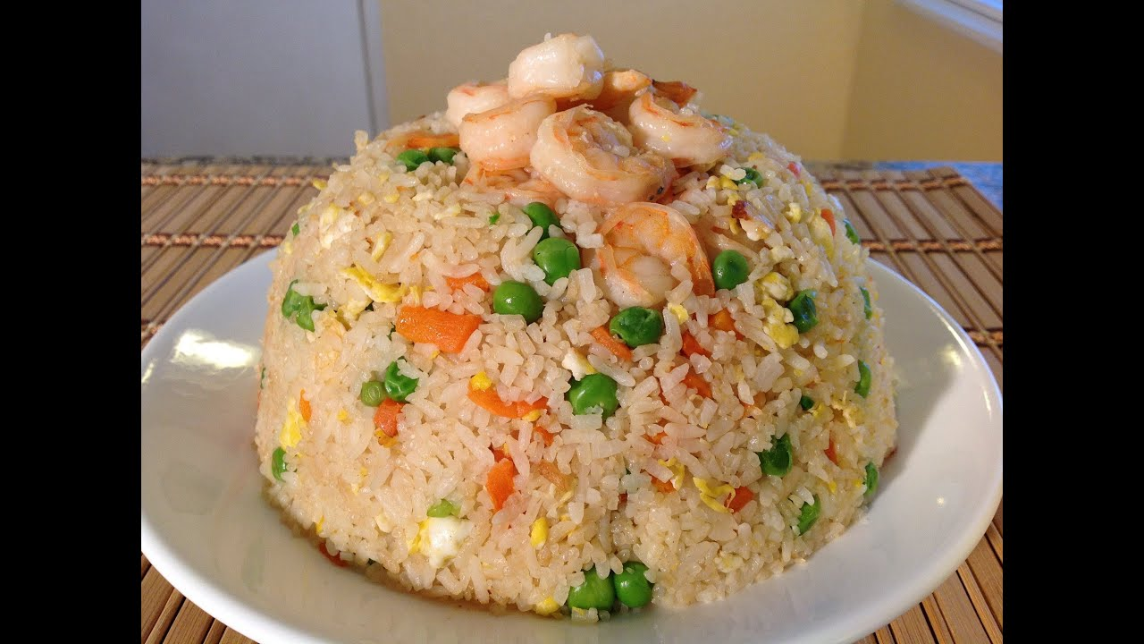 How To Make Shrimp Fried Rice Recipe Asian Comfort Food Recipes Youtube