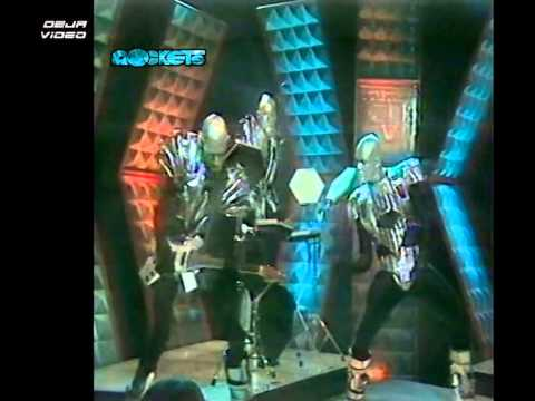 Rockets - Atomic (1982, Official Video)