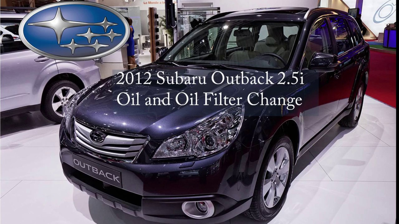 Subaru Outback Oil Type >> Diy Change Oil And Filter For A Subaru Outback With 2 5l Engine
