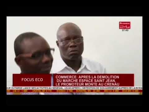 Focus Eco/Commerce:après la démolition du marché espace saint Jean