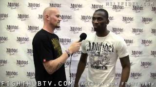 Anthony Njokuani talks UFC 128 bout with Edson Barboza