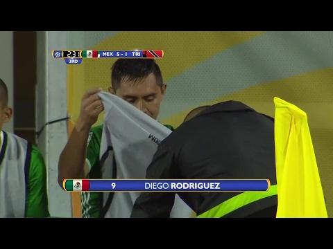 GOAL Mexico, Diego RODRIGUEZ No. 9