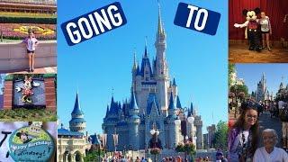 Day 3 Disney World Trip 2016 : Going To Magic Kingdom !!