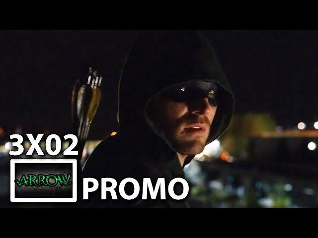 """""""Arrow"""" 3×02 """"Sara"""" Promo"""