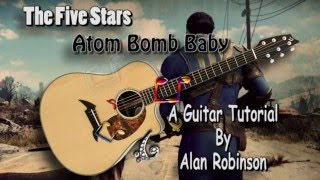 Atom Bomb Baby - The Five Stars (Fallout 4) - Acoustic Guitar Lesson (easy-ish)