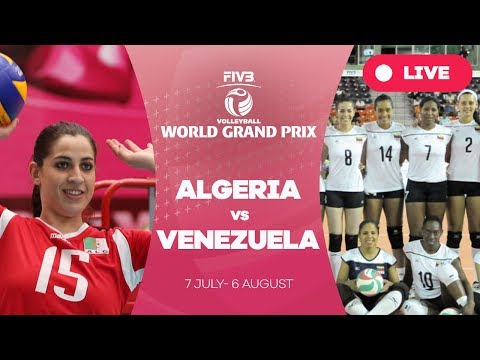 Algeria v Venezuela - Group 3: 2017 FIVB Volleyball World Gr