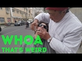 CHINESE STREET SHAVE | Whoa! That's Weird