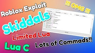 NEW Roblox Exploit: Skidals | Level 6 | Limited Lua, Lua C, Lots of commands!!! | WORKING!!!