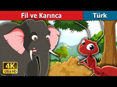 Fil ve Karınca | Elephant and Ant Story in Turkish | Peri Masalları | Türkçe peri masallar