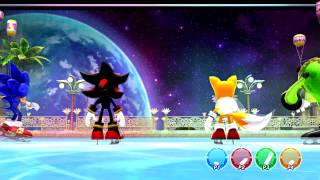 Mario and Sonic at the Sochi 2014 Olympic Winter Games - Part 20: Sonic
