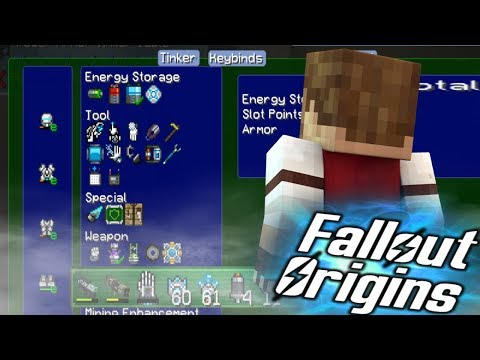 PLASMA CANNON UPGRADE! Minecraft FALLOUT ORIGINS #13 ( Minecraft Roleplay SMP ) thumbnail