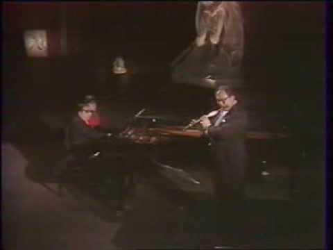 Jean-Pierre Rampal et Pierre Barbizet - Sonate de Poulenc