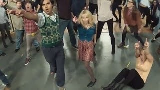Exclusive!! The Big Bang Theory Flash Mob - FULL - Ft. Cast and Crew