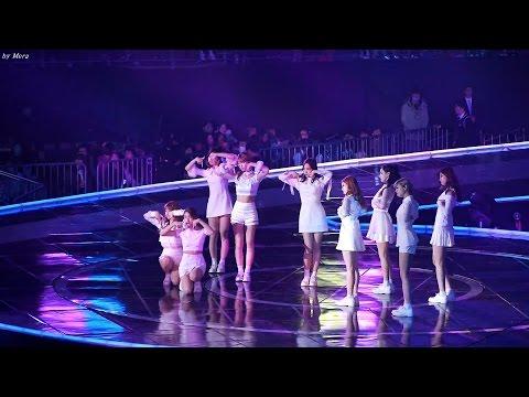 161226 트와이스 (TWICE) TT(티티) [전체] 직캠 Fancam (2016 가요대전) by Mera