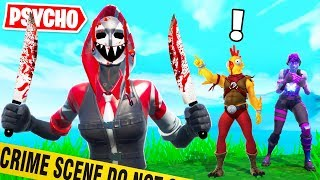 RUN From The PSYCHO or DIE! (Fortnite Creative Gamemode)