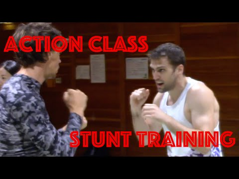 Fighting Action Class in Tokyo, Japan