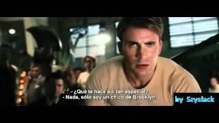 Captain America The First Avenger Trailer SUBTITULADO!!